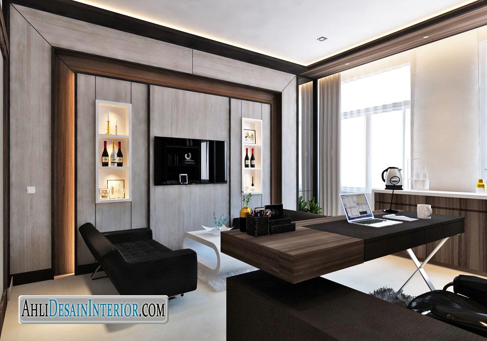 contoh desain interior kantor