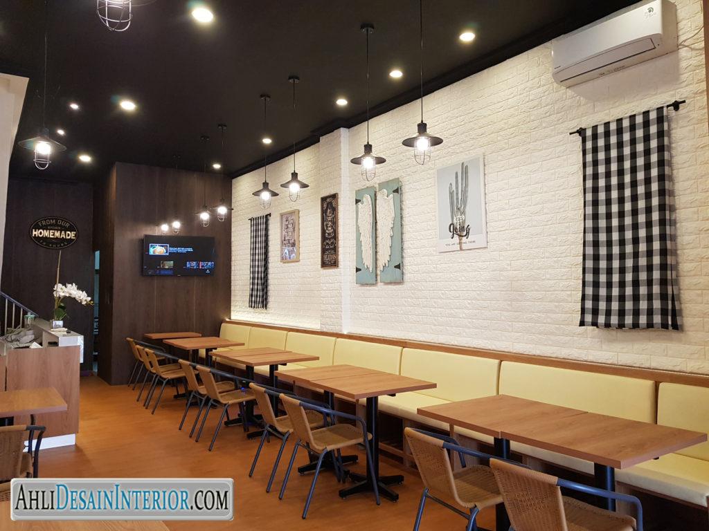 jasa desain interior restoran green lake