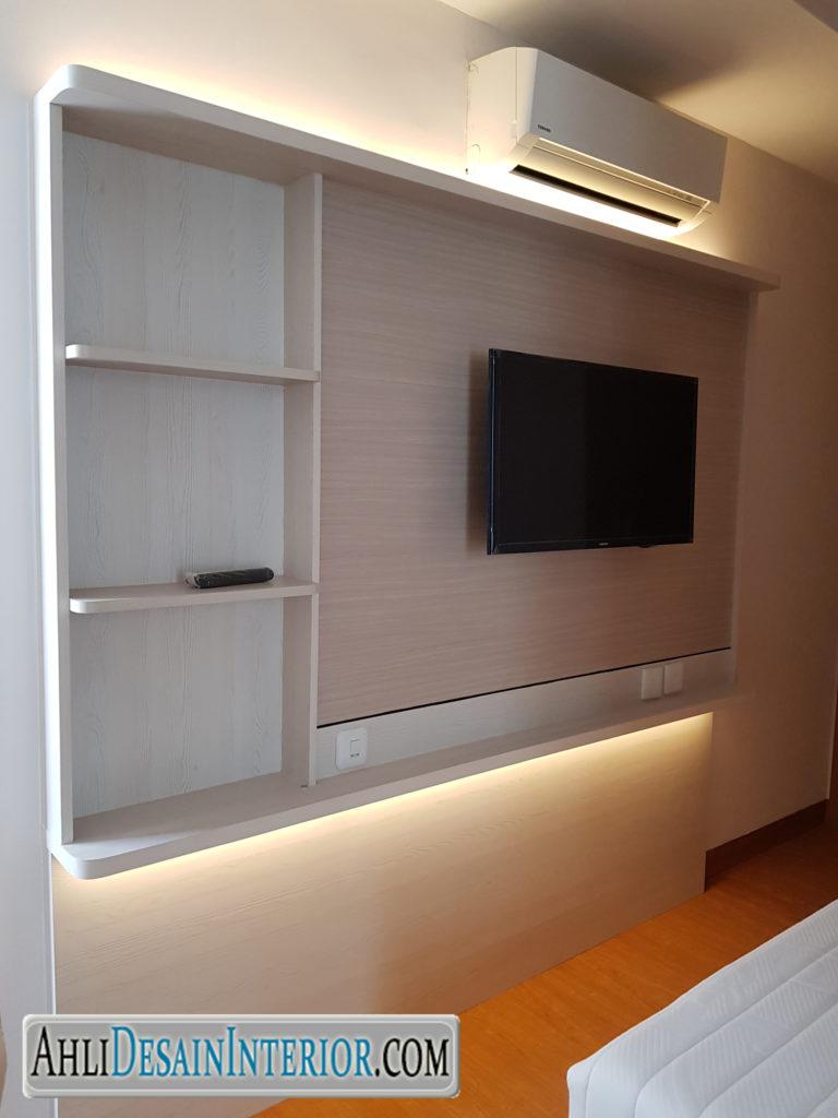 jasa desain kamar tidur apartemen the mansion