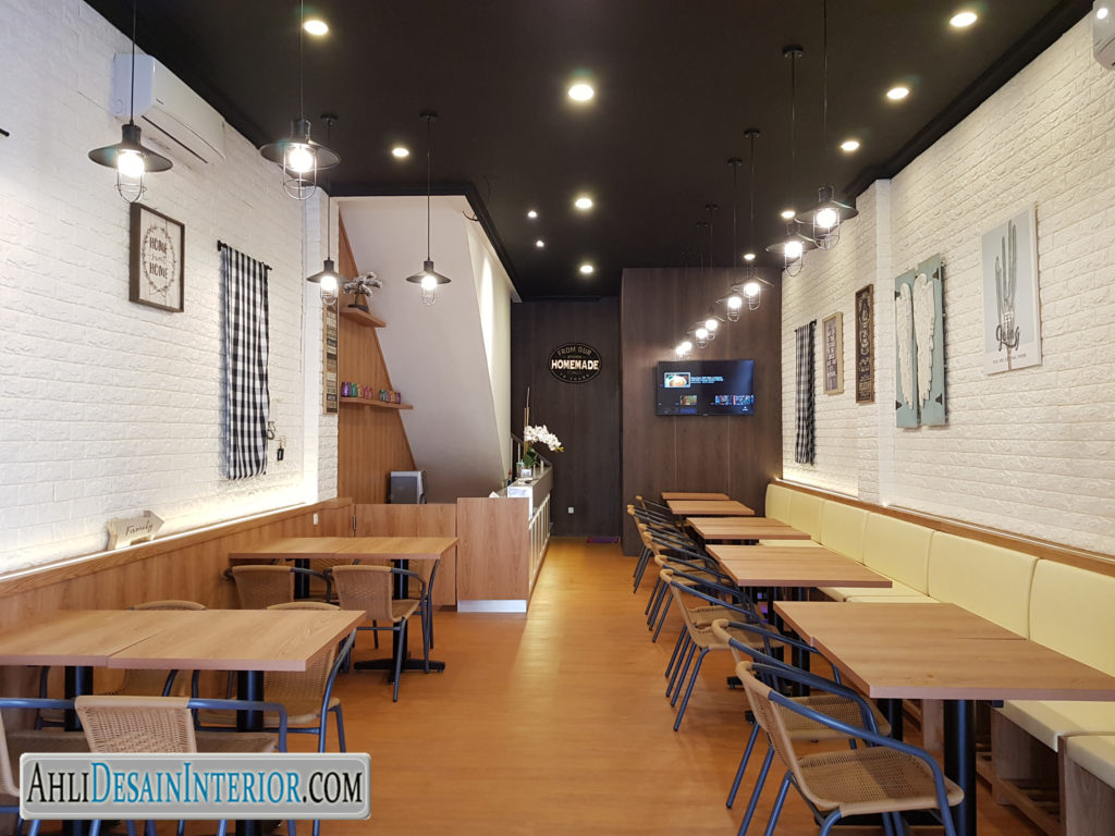 jasa desain restoran green lake city