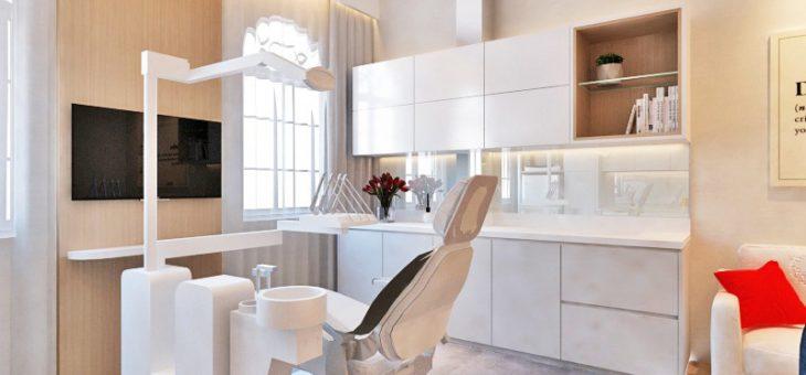 Jasa Desain Interior Klinik Gigi Minimalis Modern