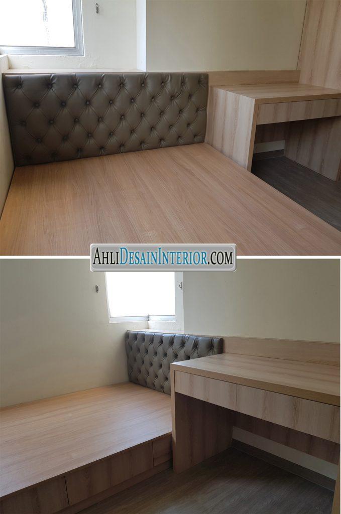 desain kamar tidur apartemen maple park
