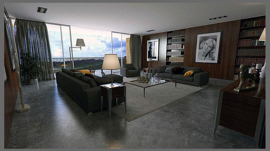 Model Desain Ruangan Pangkas